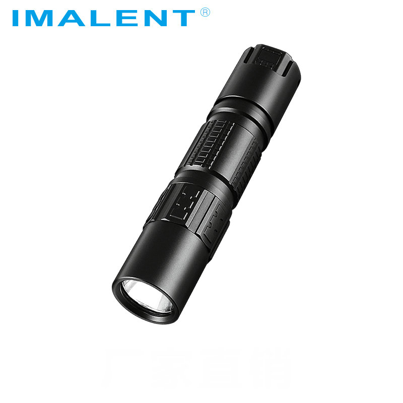 Original IMALENT DM21C Led Flashlight Cree XHP35 HI OLED Display 2000LM Mini Tactical Flashlight With Magetic USB+18650 Battery