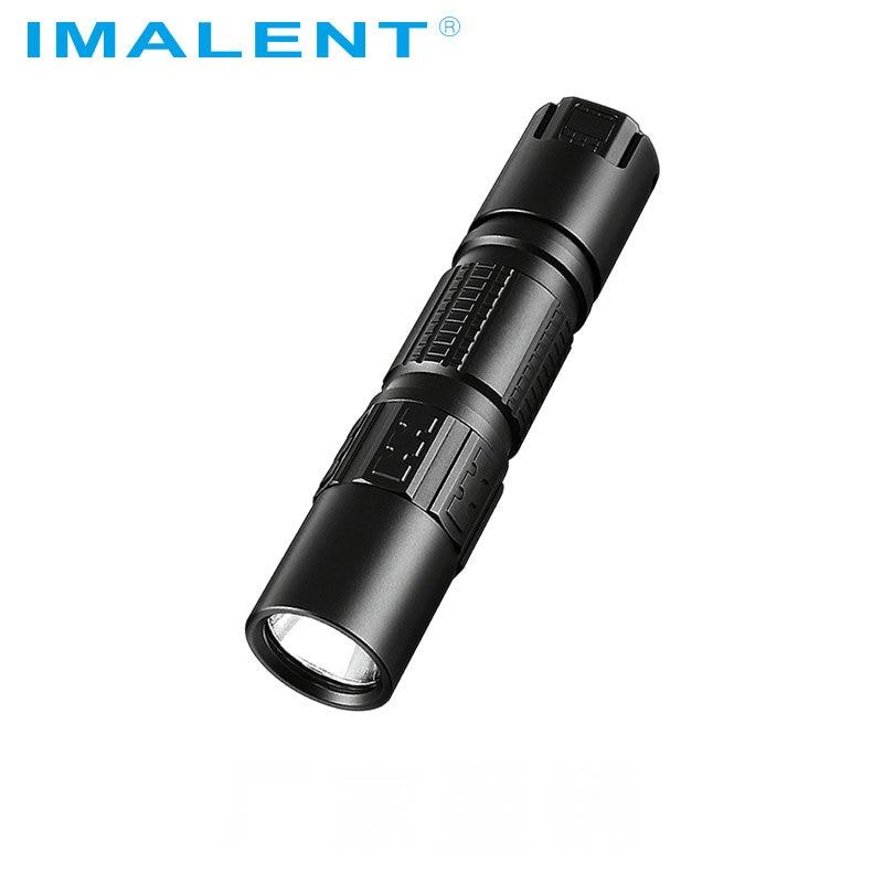 Original IMALENT DM21C Led Flashlight Cree XHP35 HI OLED Display 2000LM Mini Tactical Flashlight With Magetic USB+18650 Battery