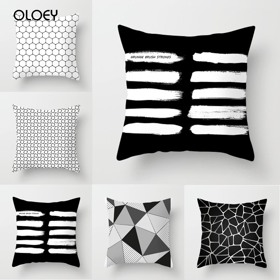 Explosion Models Household Items European Minimalist Geometric Abstract Pillowcase Custom Sofa Cushions A Variety Of Styles  ...