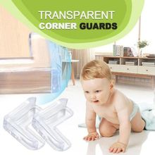 Corner-Guards Table-Edge 20pcs Anti-Collision Safety Transparent Baby Security Children