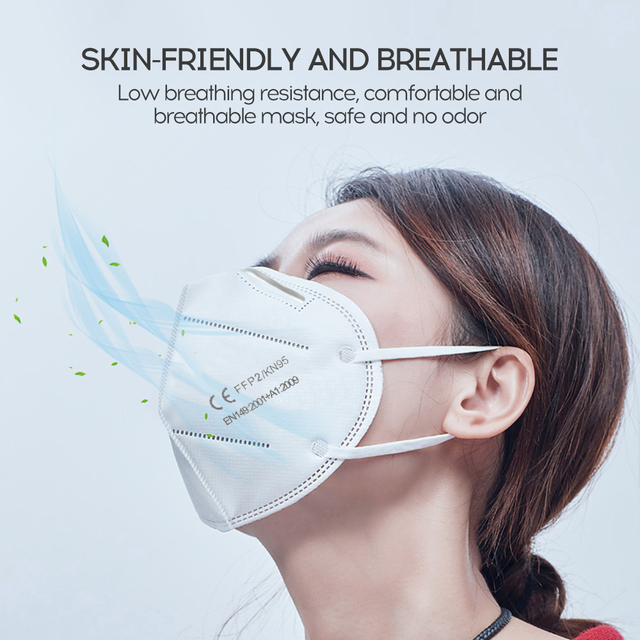 ffp2 mouth mask face mask KN95 maske facial masks protect mask Anti masks Filter ffp2mask KN95mask Anti-flu bacteria Non-woven 4