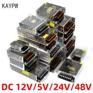 KAYPW Switching Power Supply Light Transformer AC 110V 220V To DC 5V 12V 24V 48V Power Supply Source Adapter For Led Strip CCTV(China)