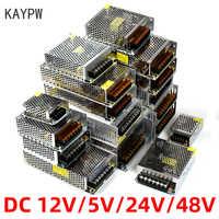 Kaypw di Commutazione di Alimentazione Luce di Alimentazione del Trasformatore AC 110V 220V A DC 5V 12V 24V 48V di Alimentazione Adattatore di Alimentazione Per La Striscia del Led CCTV