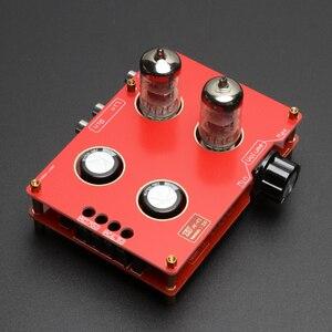 Image 4 - 240*90*115mm placa de amplificador 110 v 220 v 6n3 6h3n bile preamp tubo de alta fidelidade febre bile preamp amplificador com transformador