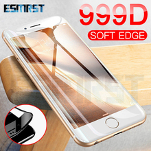Tempered-Glass Screen-Protector iPhone 7 6s-Plus for SE Glas-Film-Case Curved 999D Full-Cover