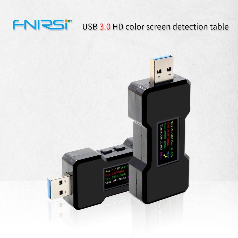 FNB18 USB tester DC Digital voltmeter amperímetro strom spannung meter amp volt amperemeter detektor power bank ladegerät anzeige