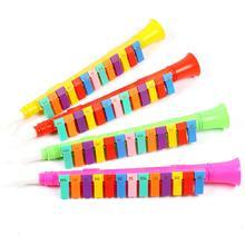 Для детей 13-клавишный легкий Мелодические гармоники Пластик музыкальный инструмент, игрушка для детей Игрушки Музыкальные инструменты