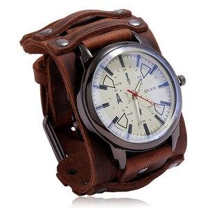 Новые спортивные мужские часы в стиле панк кожаный ремешок кварцевые модные мужские часы подарок влюбленные часы 5 цветов