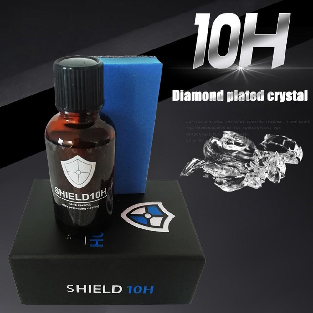 Car Styling 10H Liquid Nano Ceramic Car Glass Coating Super Hydrophobic Anti-scratch Polish Hydrophobic Coating Waterproof Agent