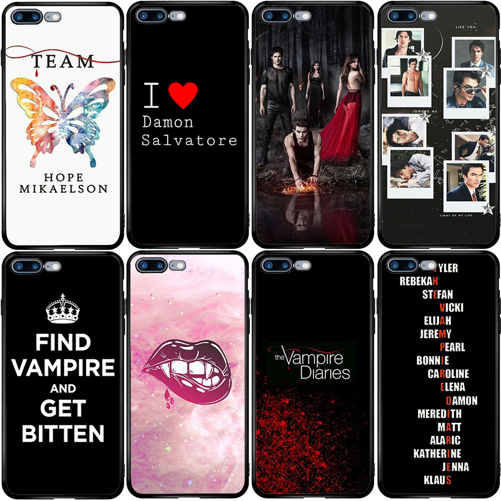 Cover Case for Huawei Honor 8 9 Y5 Y6 Y7 Y9 P Smart Z Prime Pro 2017 2018 2019 2020 Вампира Дневники