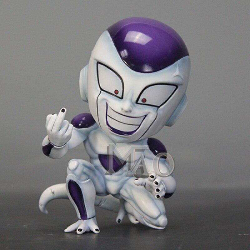 Dragon Ball univers patron Frieza forme finale érigé doigt moyen GK résine Statue Action Figure jouet X2457