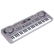 61 Keys Electronic Keyboard Piano LED Music Toy Educational Electone Christmas Gift for Children