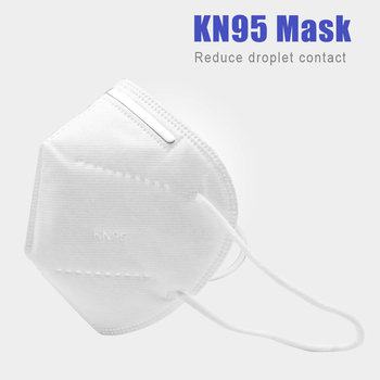 10Pcs KN95 Mask 95% Filtration Anti Dust Bacterial KN95 Mask Dustproof PPE Protective Mask Face Mouth Cover