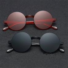 XojoX Vintage Round Sunglasses Women Fashion Brand Designer Rimless