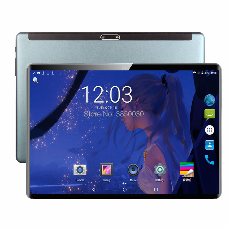 2020 Multi-touch Glass Screen 10 Inch Octa Core 4G FDD LTE Tablet 6GB RAM 128GB ROM Dual Cameras Android 9.0 Tablet 10.1