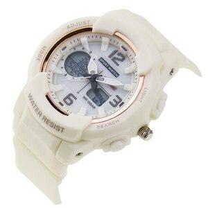 Image 4 - נשים שעון דיגיטלי LED אלקטרוני קוורץ נשים שעוני יד אופנה צמיד שעונים עמיד למים של הילדה מתנות Relogio Feminino