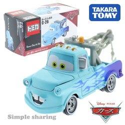 Takara tomy tomica disney pixar carros C-26 mater quente haste tipo pop crianças brinquedos veículo motor diecast modelo de metal