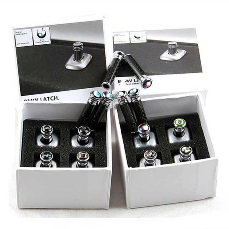 คาร์บอนไฟเบอร์ประตู Bolt ฝาครอบภายในรถจัดแต่งทรงผมอุปกรณ์เสริมสำหรับ BMW 3 5 7 Series G01 G02 G05 g20 G30 F90 G32 G11 GT