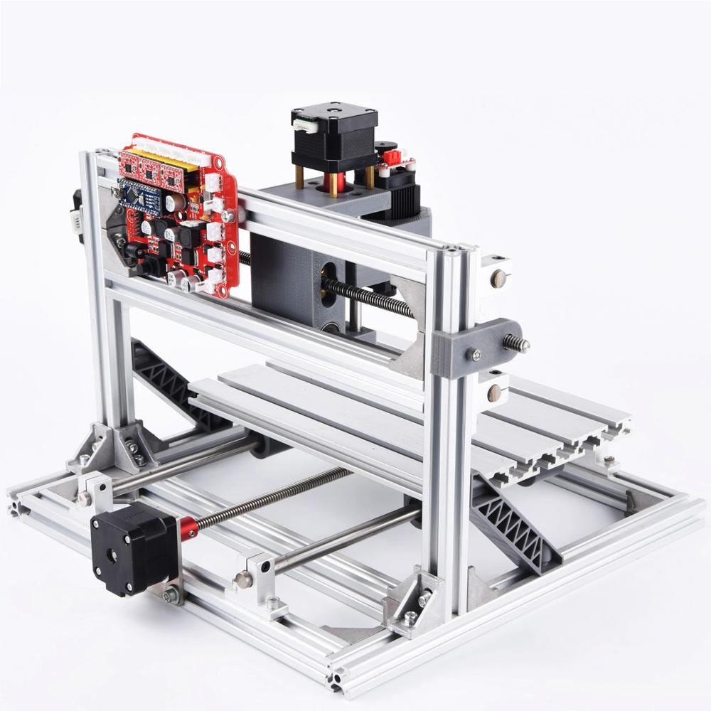 Image 2 - cnc 2418 with ER11,cnc engraving machine,Pcb Milling Machine,Wood Carving machine,mini cnc router,cnc2418, best Advanced toys-in Wood Routers from Tools