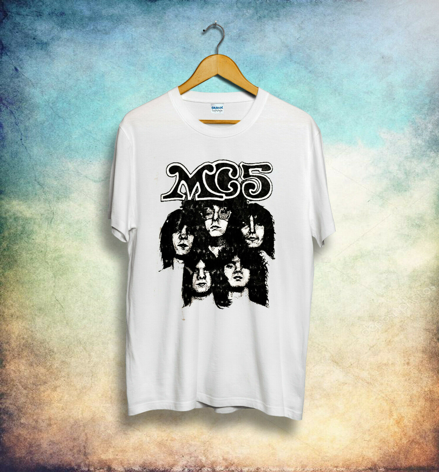 MC5 Winged Panther Kick Out The Jams Stooges Sonics Ratm Rock Retro T Shirt 439