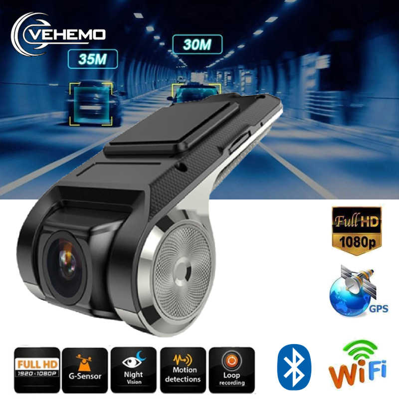Car Camera ADAS DVR Full HD 1080P Video Recorder G-Sensor Wi-fi With TF Card Night Version Motion Detection Car Dash Cam USB