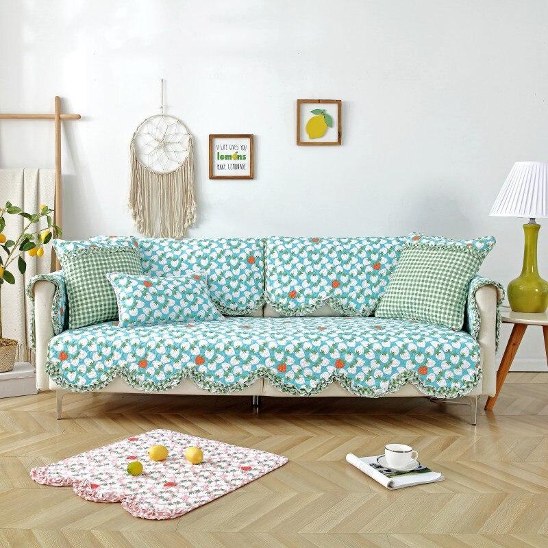 Купить 1 шт мягкие сезонные чехлы для диванов нескользящие съемные