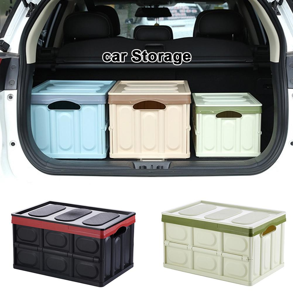 Car Organizer Trunk Storage Box Multi-function Folding Bag Travel Free Shipping