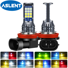 2pcs H8 H11 LED Bulb 9006 HB4 LED Fog Lights 6000K 12V 24V White Yellow Green Lemon Ice Blue Car Driving lights H16 Auto Lamp