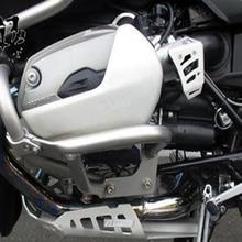 Aftermarket Бесплатная доставка мотоцикла защита двигателя расширение для Bmw 2005 2011 R1200Gsa 1200Gs R 1200 Gsa серебро