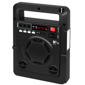 Solar Energy Charge FM Radio TF USB Spea