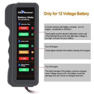 Image 5 - Remvloeistof Tester Mini 5LED Indicator DOT3 DOT4 Digitale Testen Auto Dynamo Detector BM310 12V Batterij Tester Automotive
