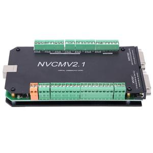 Image 2 - NVCM 5 Axle CNC Controller MACH3 USB Interface Board Card for Stepper Motor High Quality