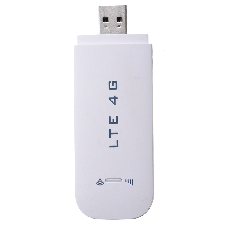 Networking Card Mobile WIFI Wireless Modem USB Router 4G LTE Broadband W/ Card Slot 150Mbps For 32/64BIT WIN7/8/10/XP