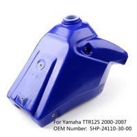 Areyourshop For Yamaha TTR125 2000 2007 2001 2002 Fuel Gas Tank Petrol Gastank Blue Motorcycle ABS plastic Tank 5HP 24110 30 00