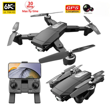 XKJ S604PRO Drone 6K Dual HD Camera Professional Aerial WIFI FPV Brushless Motor RC Foldable Remote Distance 3KM Quadcopter Dron