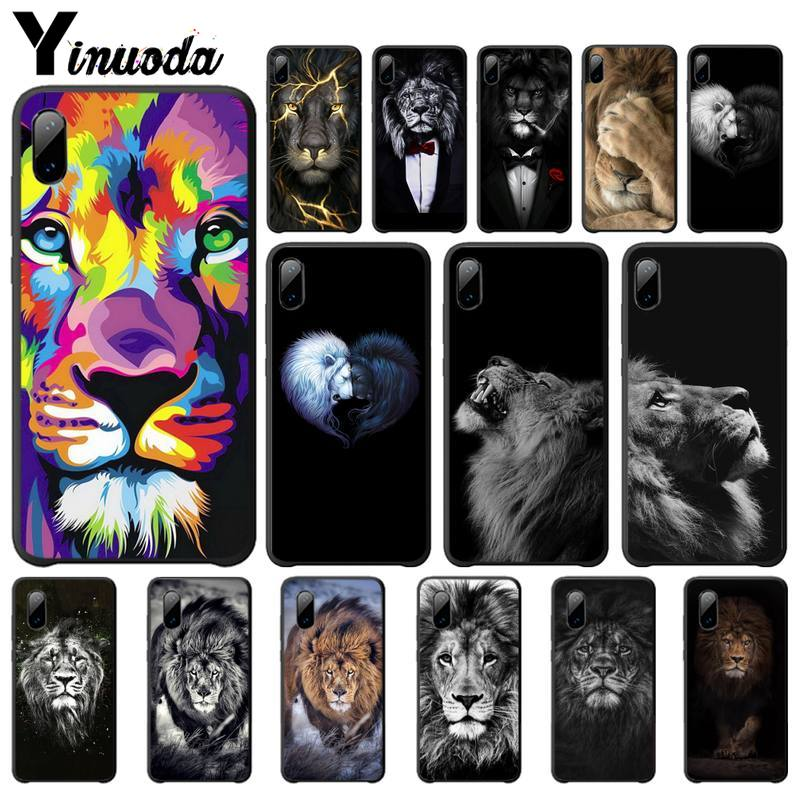 Yinuoda <font><b>Lion</b></font> Alpha Male Lovely Cover Luxury <font><b>Case</b></font> For <font><b>Xiaomi</b></font> <font><b>Mi</b></font> <font><b>A1</b></font> A2 Lite Redmi Note 2 3 4 4x 5 5a 6 Mobile Phone Accessories image