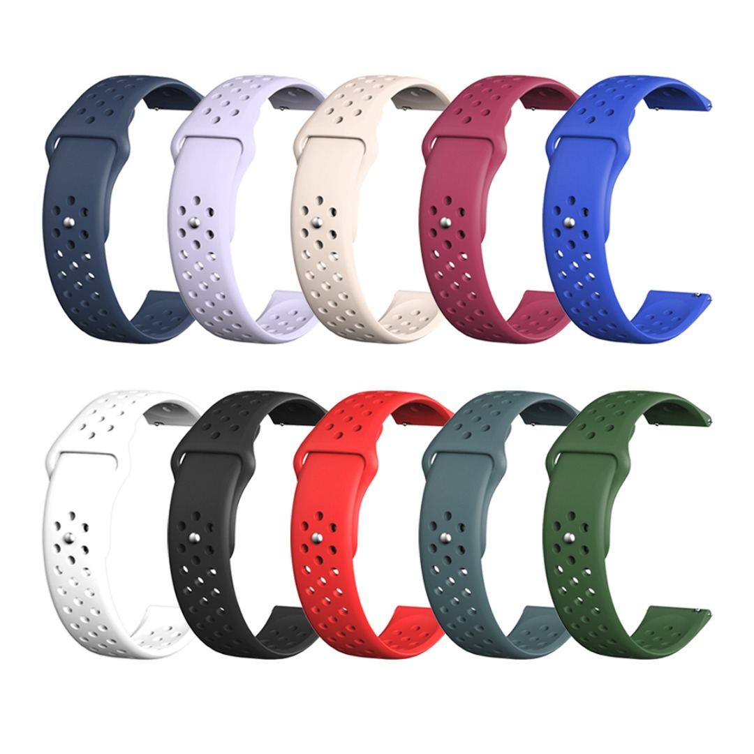 20mm Universal Strap Soft Silicone <font><b>Watch</b></font> <font><b>Bracelet</b></font> <font><b>Unisex</b></font> <font><b>Watch</b></font> Bands Strap For Samsung Galaxy <font><b>Watch</b></font> Active <font><b>Watch</b></font> Accessories image