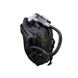 50w Portable shoulder fiber laser metal rust cleaning machine price for sale(China)