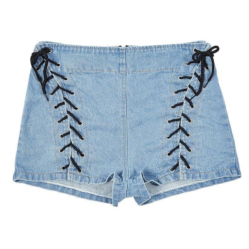 1  lace up shorts