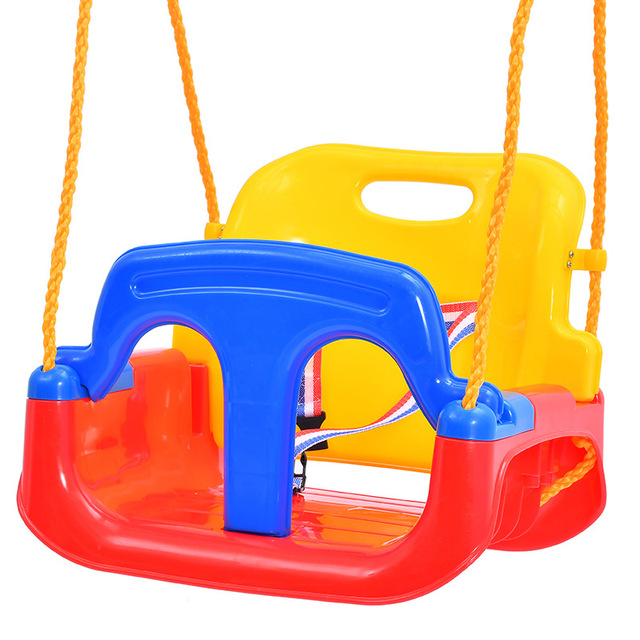 3 in 1 Kids Swing Toys Anti-skid Hanging Swing Chair Sport ItemToys for Children Baby Swings Set Indoor Outdoor Toys Trapeze 5