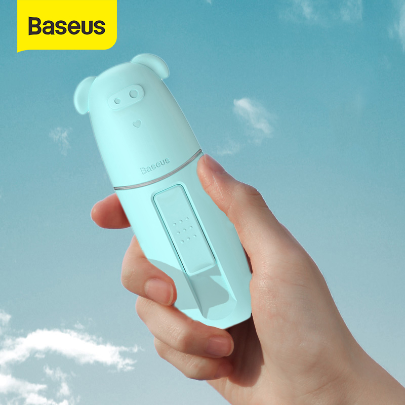 Baseus Portable Humidifier Handheld Spray Steamer Portable Mist Sprayer Facial Body Nebulizer Steamer Moisturizing