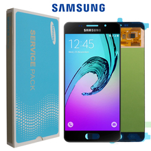 Original 5.5 SUPER AMOLED LCD für SAMSUNG Galaxy A7 2016 LCD Display A710 A710F A710M Display Touchscreen Digitizer montage