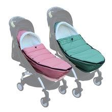 Uniwersalny okrycie na nóżki do wózka skarpety zimowe torba na sen wiatroodporny ciepły śpiwór akcesoria dla wózków dziecięcych dla Babyzen yoyo