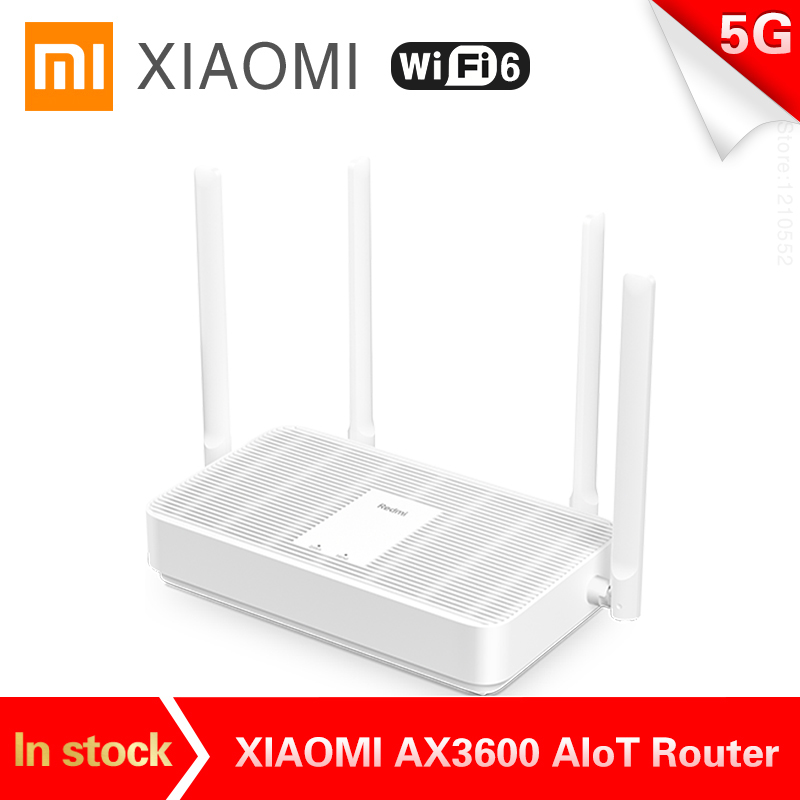 2020 New Xiaomi Redmi Router AX5 WiFi 6 2.4G /5G dual Frequency Mesh network Wifi Repeater 4 High Gain Antennas signal extender(China)