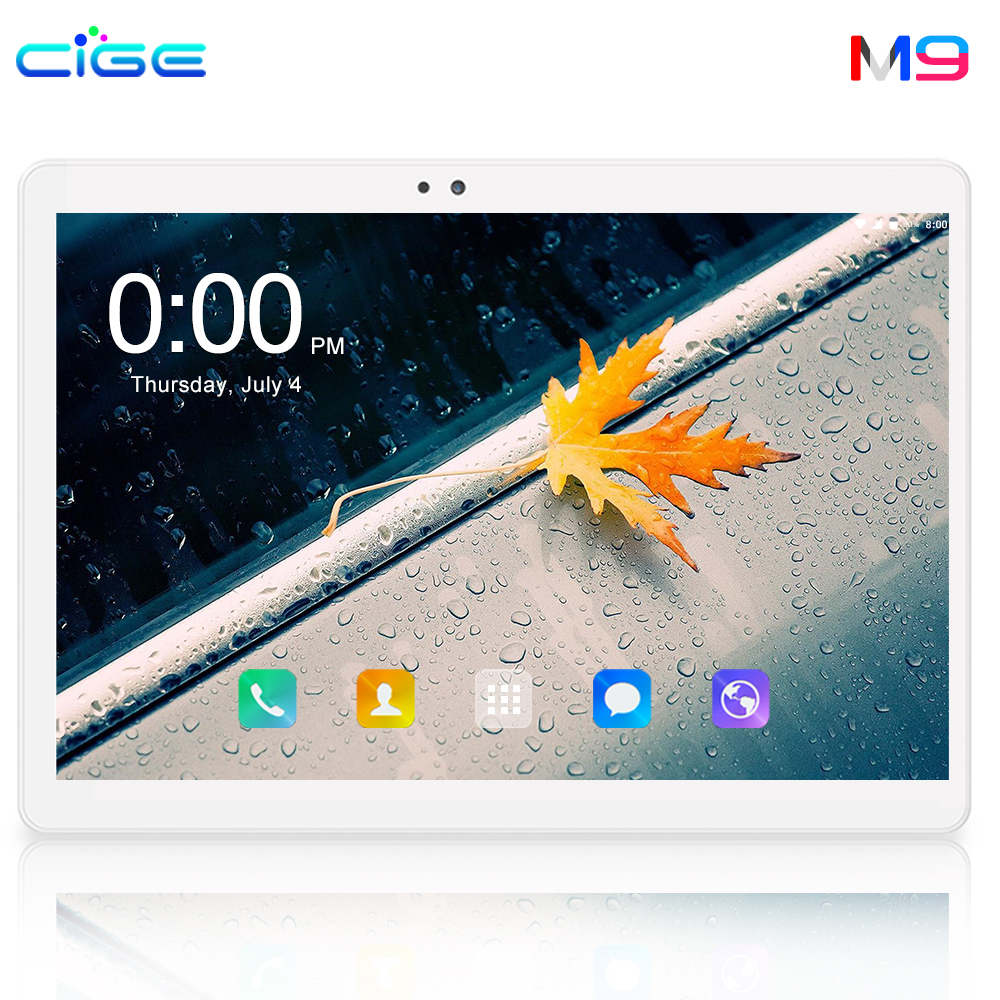 New Tablets 10.1 Inch Android 8.0 Tablet Pc IPS Screen Octa Core 6GB RAM 64GB ROM Mini Pad Support Extend TF Card 8Mp Tab 10 8