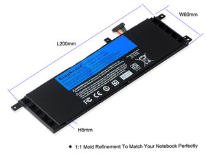 Image 4 - KingSener B21N1329 batería de portátil para ASUS D553M F453 F453MA F553M P553 P553MA X453 X453MA X553 X553M X553B X553MA X403M X503M