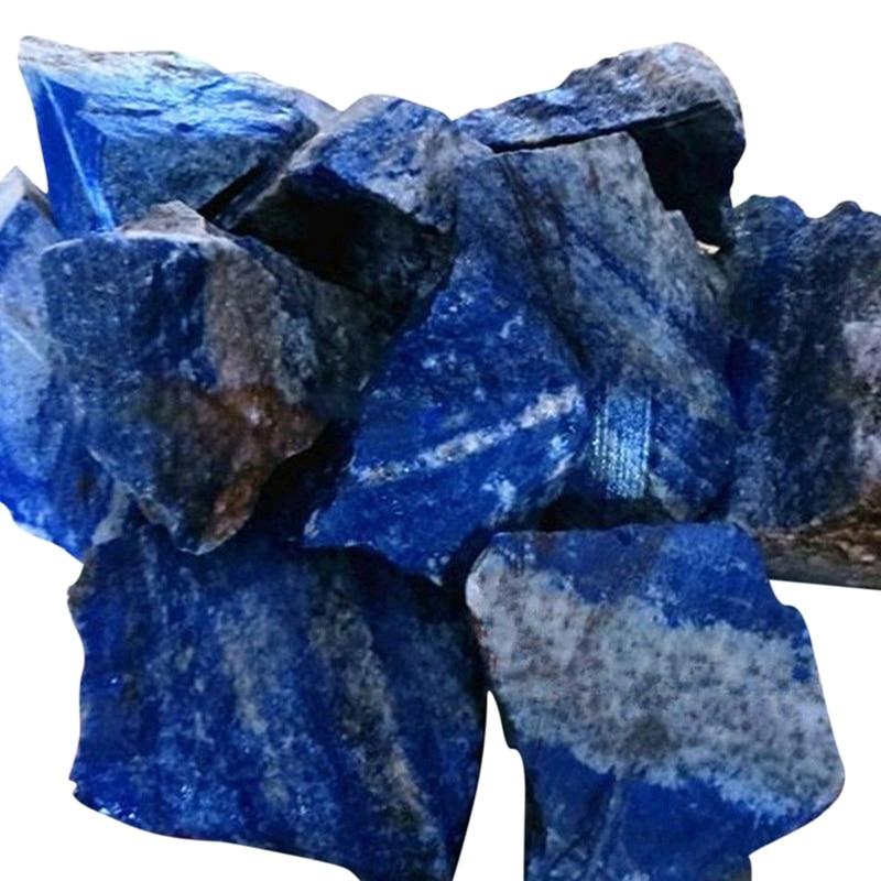 100g ménage naturel Lapis Lazuli matière première minéraux guérison pierres premières fournitures de jardin bonsaï décoration énergie pierre Z