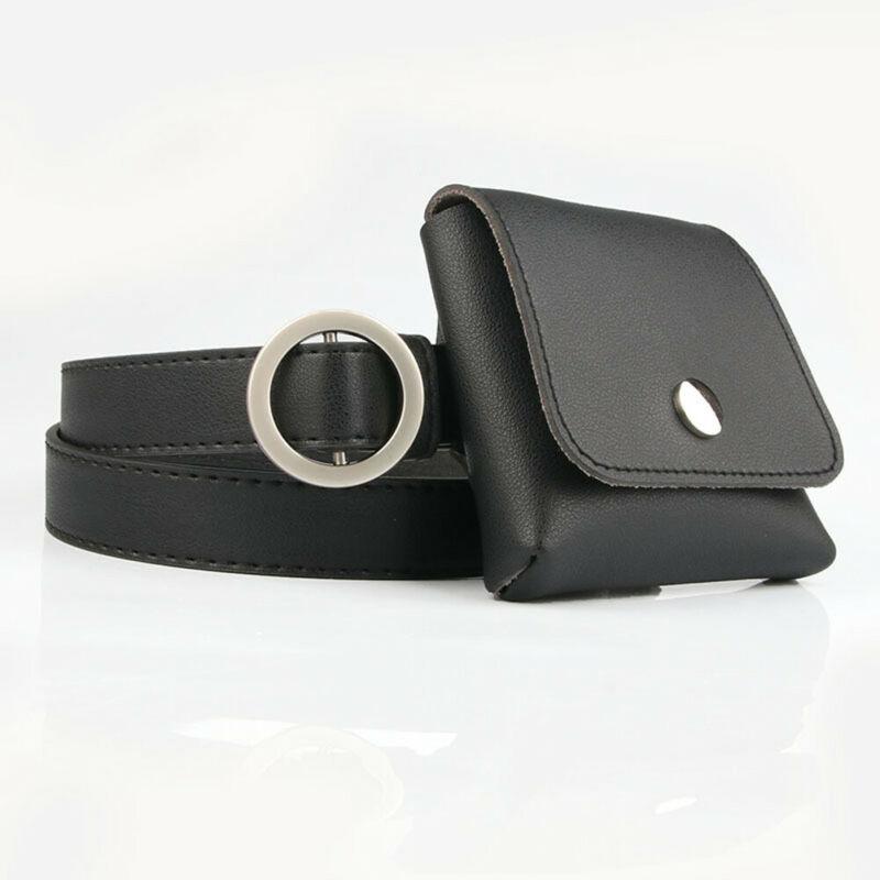 Waist Pack Womens Soft PU  Belt Bag Purse Mini Clutch Phone Bag Pocket Fanny Pack With Belt  /BY