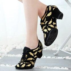 Mulher latina sapatos de dança jazz moderno sapatos de dança para mulheres sapatos de dança de salão tango dança salsa tênis meninas