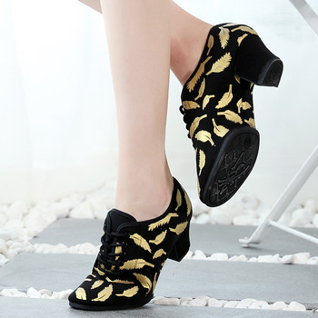цена на women Latin Dance Shoes modern jazz dance shoes for women ballroom dance shoes tango dance salsa sneakers girls